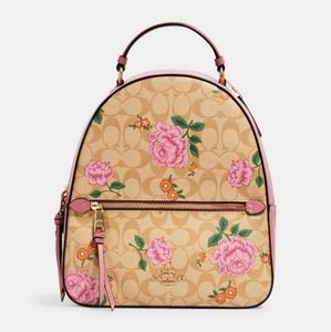 ⚜Coach Jordyn Backpack In Signature Canvas
